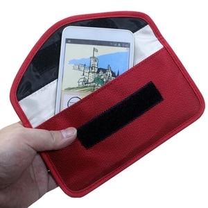 Сумка для хранения, сумка-посылка с защитой от излучения, мобильный телефон, брелок, защитный чехол, чехол-кошелек для ID-карты/автомобильног...
