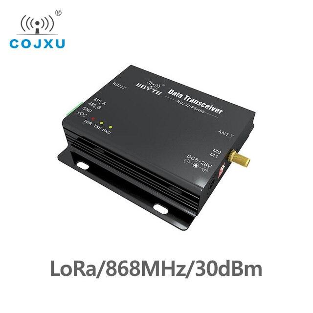 SX1276 RS485 RS232 868MHz TCXO LoRa E32 DTU 868L30 بعيدة المدى جهاز بث استقبال للترددات اللاسلكية uhf RF وحدة DTU اللاسلكية جهاز ريسيفر استقبال وإرسال