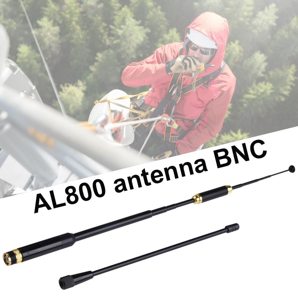 AL800 Antenna BNC Telescopica UHF VHF Dual Band Maschio BAOFENG CB Radio For Walkie Talkie GT-3 UV-5R UV-82 HYT TC-500 Flexible