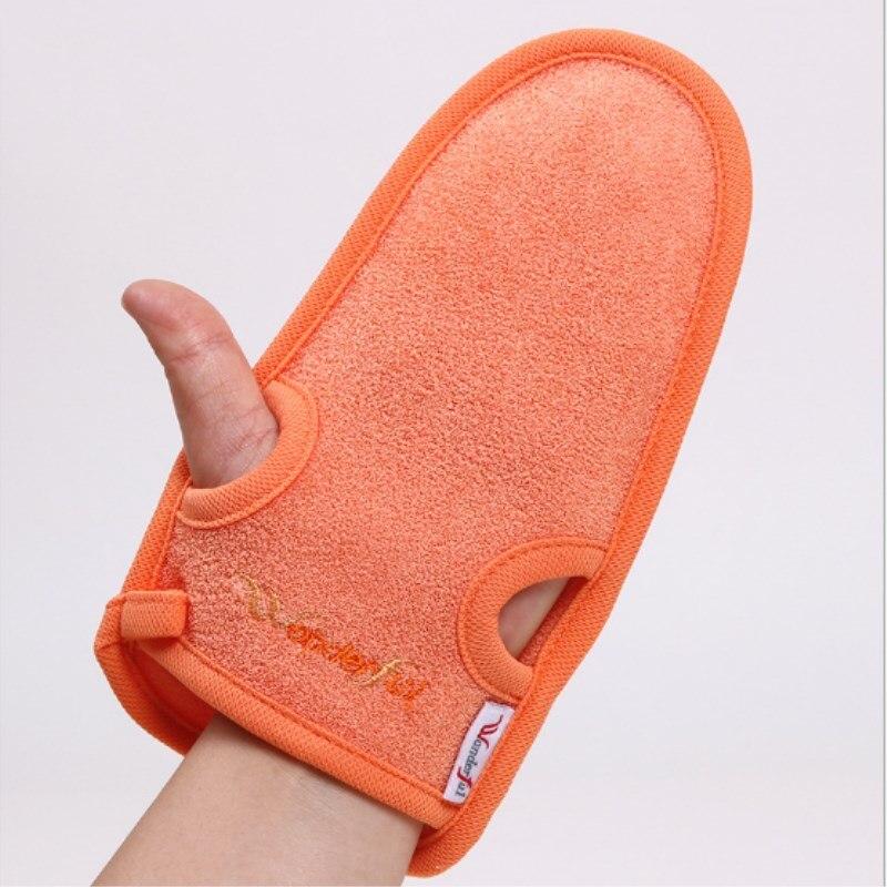 1 шт. перчатки для душа и ванной, отшелушивающий, для мытья кожи, спа, массажный скраб, скраб для тела, уход за телом