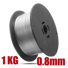 Welding Wire 1Roll Stainless Steel Welding Wire 0.8mm 1kg Solid-Cored Welder Tools for Food General Chemical Equipment 100x45mm