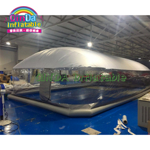 2019 inflatable swimming pool dome tent dustproof winter waterproof inflatable pool ceiling bubble dome tent цена в Москве и Питере