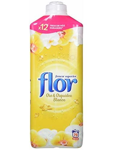 Flower Fabric Softener Concentrate Gold 70 Dose – 3 Bottles