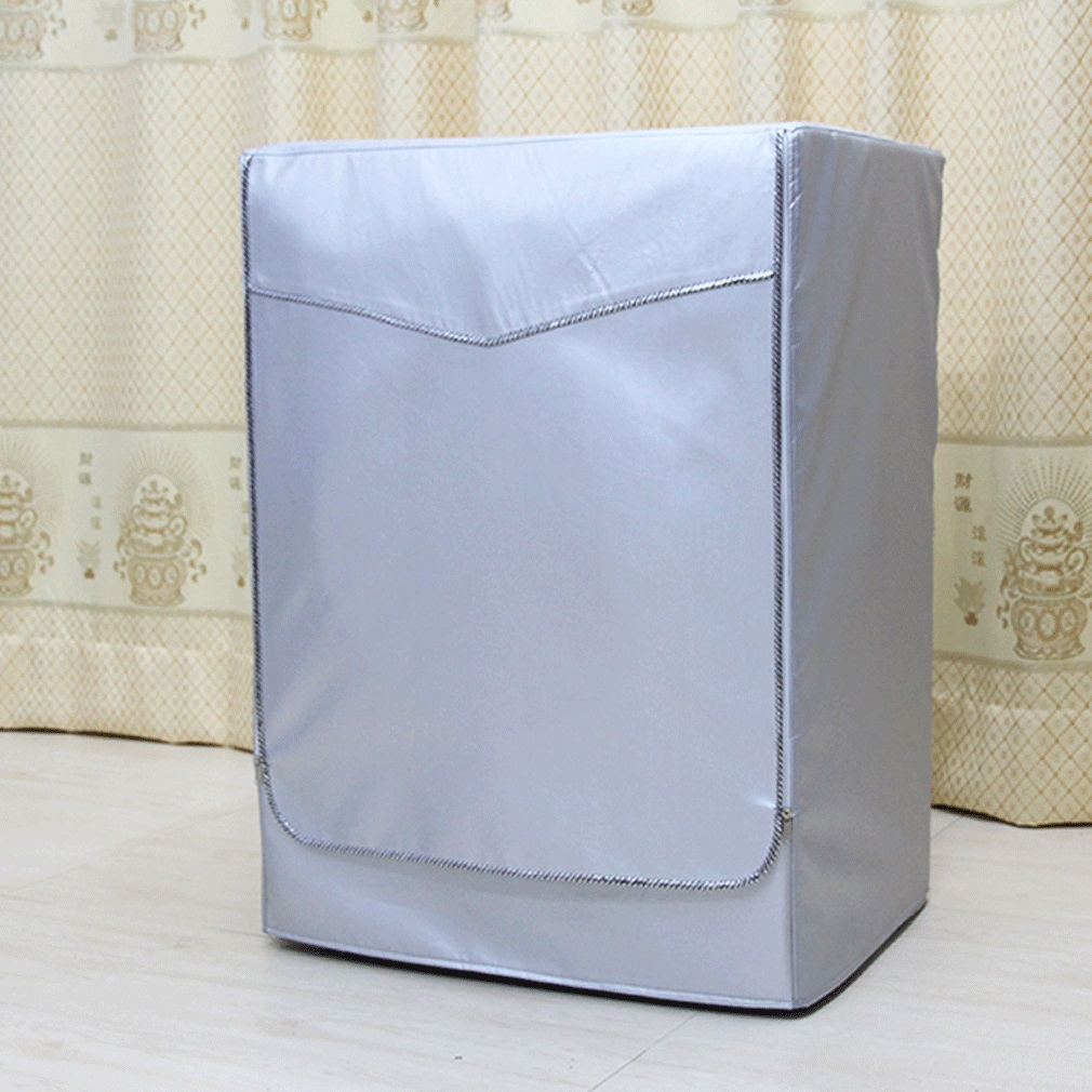 Sunscreen Dust Proof Cover Washing Machine Cover Waterproof Case Washing Machine Protective Dust Front Load Wash Dryer S L Washing Machine Covers     - title=