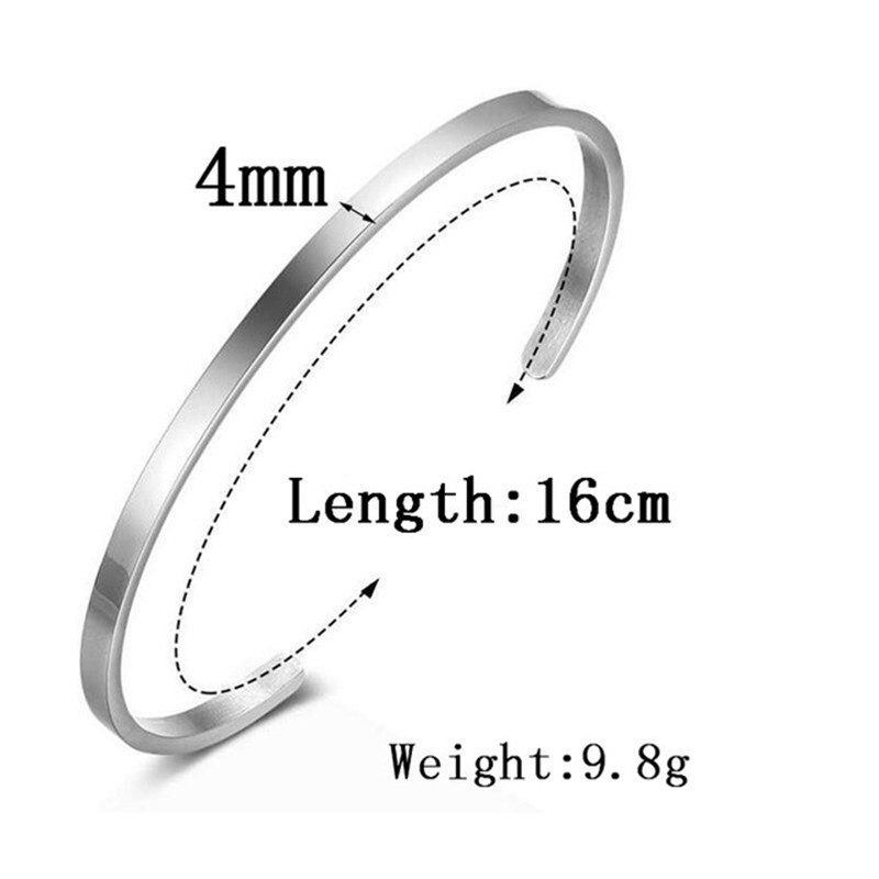 2018-Hot-New-316L-Stainless-Steel-Bangle-Positive