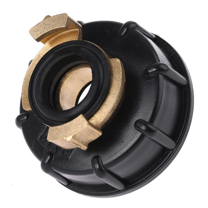 Water storage tank IBC Tank adapter S60X6 <font><b>geka</b></font> style hose connector Irrigation Practical Outlet Thread Accessories Fittings A5YD image