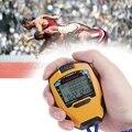 Профессиональный секундомер, 3 ряда, 100 кругов, 1/1000 секунд, цифровой спортивный счетчик, таймер, профессиональный, легкая атлетика, секундоме...