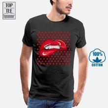 Boardrippaz T Shirt Kuss Lippen Kuss Lippen Rot Rot Geil Geil Pop Kunst Retro Stil Mode Männer Bedruckte T Shirts T Hemd Heißer Verkauf