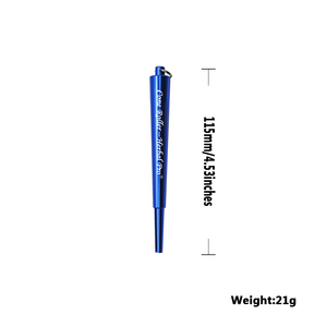 Image 2 - Honeypuff fabricante de rolo cone de metal prerolled cone erva acessórios máquina de rolamento de papel para o fabricante de cigarros de rolamento