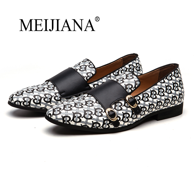 MEIJIANA Size 38-48 Leather Casual Shoes Men High Quality Leather Men Casual Shoes Autumn Leather Shoes For Men Flat Shoes
