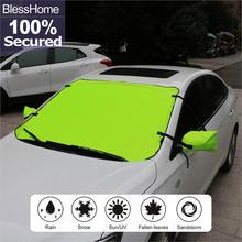 BlessHome Shield Sunshade Universal Car SUV Trucks Keeps Cool Heat Windshield Car Sun Shade reflective car windshield sun shield heat shade silver