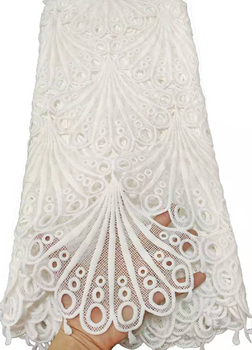 High Quality African Milk Lace Fabric 2019 French Mesh Lace Fabric Stones Nigerian Milk Silk Lace Fabrics