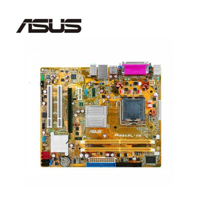 Für Asus P5KPL-VM Desktop Motherboard G31 Sockel LGA 775 Q8200 Q8300 DDR2 Original Verwendet Mainboard Auf Verkauf