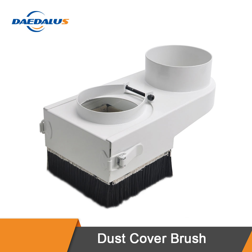 Daedalus Dust Collector Dust Cover Brush For CNC Spindle Motor Milling Machine Router Tools 65mm-100mm