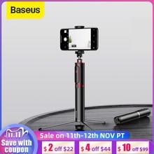 Baseus Palo de Selfie con Bluetooth, trípode portátil de mano para cámara de teléfono inteligente con control remoto inalámbrico para iPhone, Samsung, Huawei y Android