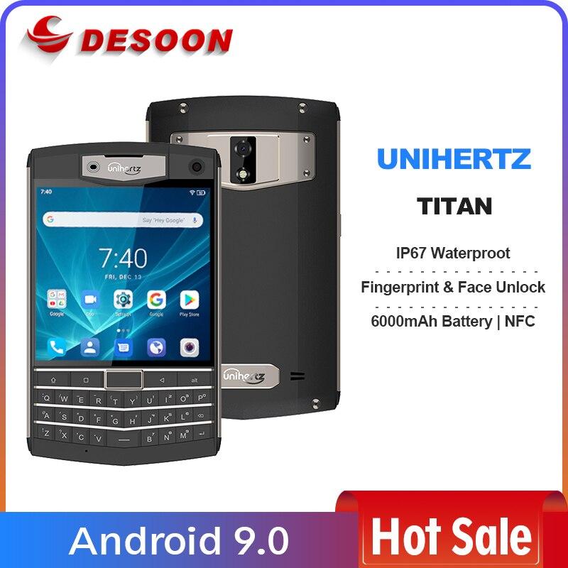 Смартфон Unihertz Titan Rugged QWERTY, Android 9,0 Pie, 6 + 128 ГБ, 6000 мА · ч, NFC, разблокированный, черный