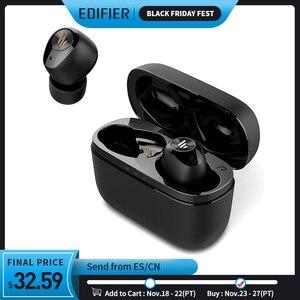 Image 1 - EDIFIER TWS2 słuchawki TWS Bluetooth V5.0 IPX4 do 12 godzin czas odtwarzania wielofunkcyjne sterowanie bezprzewodowe słuchawki