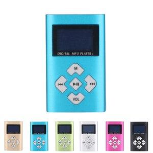 Hifi USB мини MP3 музыкальный плеер 1,1, ЖК-экран, поддержка 16 Гб Micro SD TF карта, спортивная мода 2019, новый стиль, перезаряжаемый