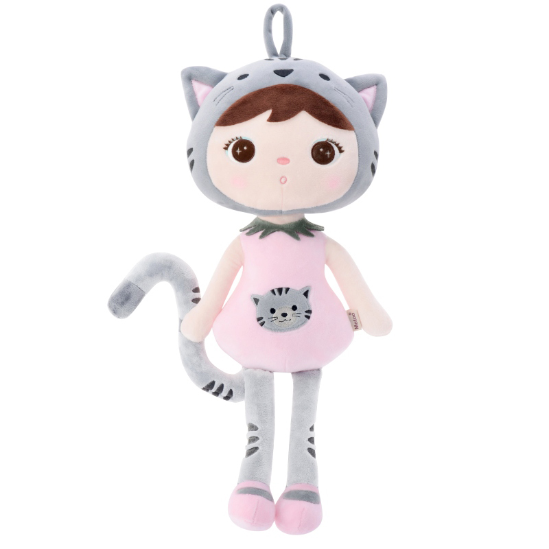 2020 New Genuine 20CM 45CM Cartoon Stuffed Animals Metoo Plush Toys Cat Dolls For Birthday Christmas Children Gifts C21