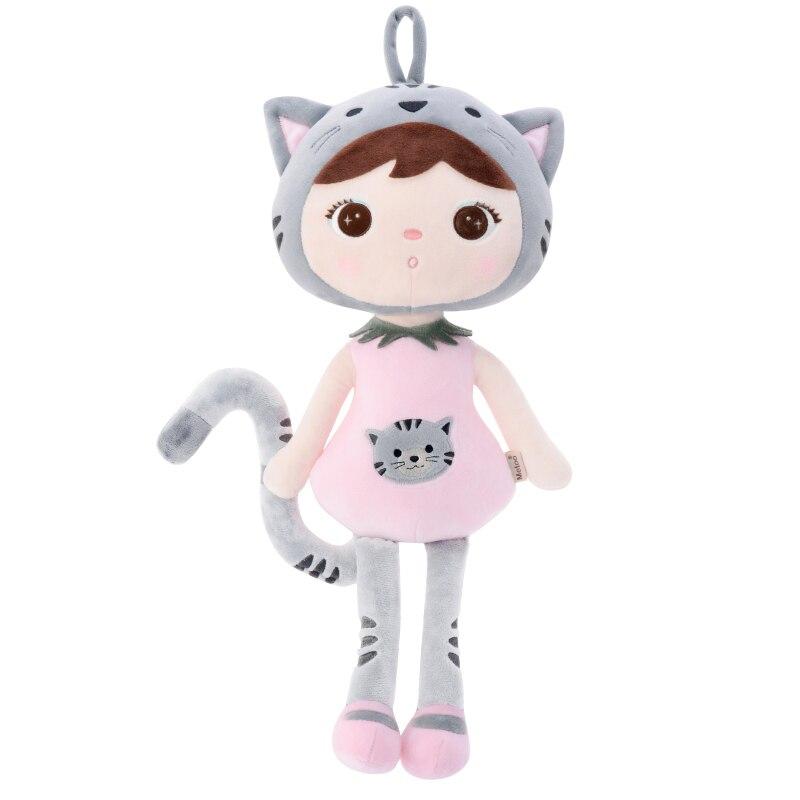 2020 New Genuine 20CM 45CM Cartoon Stuffed Animals Metoo Plush Toys Cat Dolls For Birthday Christmas Children Gifts C21
