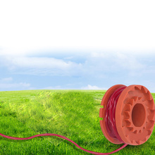 12x линии катушки заменяет комплект для 10ft WORX WA0010 триммер для травы и кромки