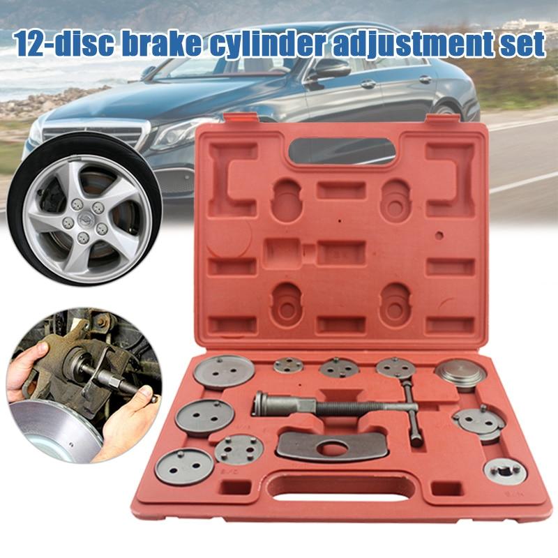 Pump-Adjustment-Set Brake-Pad Disassembly-Tool Auto-Repair-Tool-Set Car-Styling 12PCS