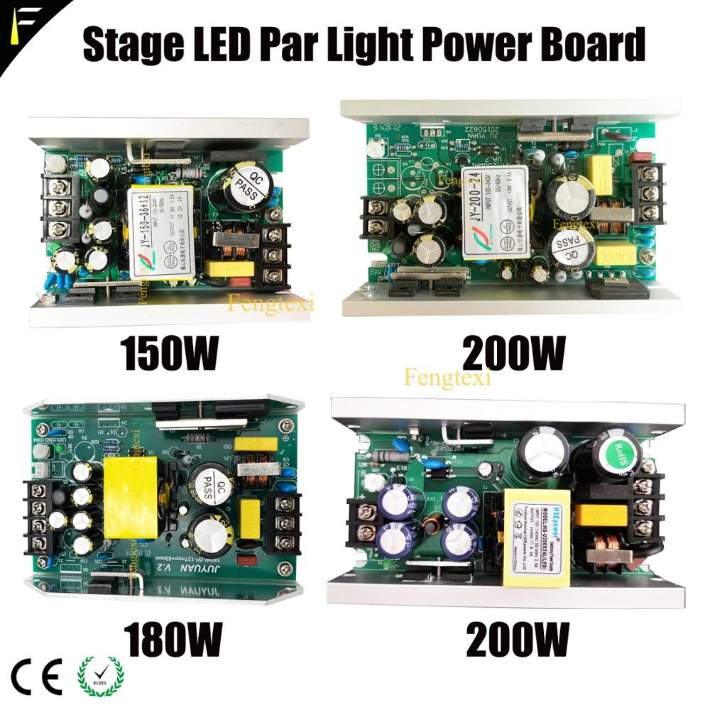 Stage Par Can Drive Power LED 54x3W 150W 180W Par Light Switch Power Supply Par Light Power Supply Circuit Board Driver