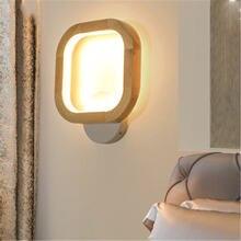 Настенный светодиодный прикроватный светильник в скандинавском