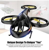 Syma-helicóptero teledirigido oficial para niños, cuadricóptero con plataforma de aterrizaje, nuevo diseño, juguetes para niños, regalo de cumpleaños