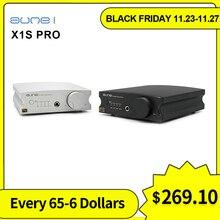 Aune X1S PRO X1S 2020 Headphone Amplifier ES9038Q2M chip decoding 32BIT/768K DSD512 USB/COAXIAL/OPTICAL input dac amp DOP/128