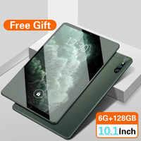 2021 nuevo 10 pulgadas de aprendizaje en línea de la tableta Android 9,0 10 core 6GB + 128GB 1280X800 IPS tarjeta SIM Dual WIFI tableta GPS 4G teléfono móvil