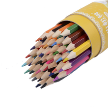 TOPSTHINK 12/24/36colors drawing pencil set cute wooden Multi-color art for school Graffiti Painting