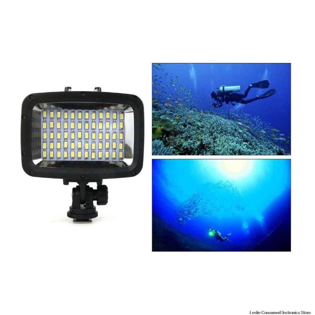 Sl-101 Дайвинг заполняющий свет для спортивной камеры Gopro водонепроницаемый светодиодный осветительный прибор для сьемок 40 м Дайвинг свет чер...