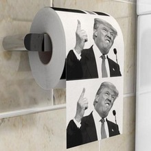 1 Roll Funny President Trump Toilet Paper Donald Prank Joke Trump Toilet Paper Funny