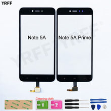 Für Redmi Hinweis 5A Prime Touch screen Für Xiaomi Redmi Y1 Hinweis 5A Touchscreen Digitizer Sensor Glas Panel Ersatz