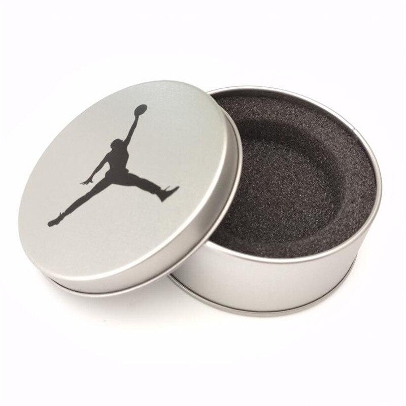 Cans Basketball Bracelets Packaging Aluminum Box Star Kobe Curry Owen James Silica Gel Bracelet Gift Packaging