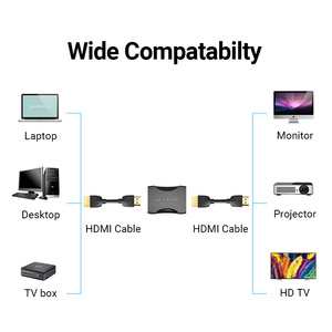 Image 2 - Tions HDMI Extender HDMI Buchse auf Buchse HDMI 4K 2,0 Verlängerung Adapter Koppler für PS4 TV HDMI Kabel HDMI Extender