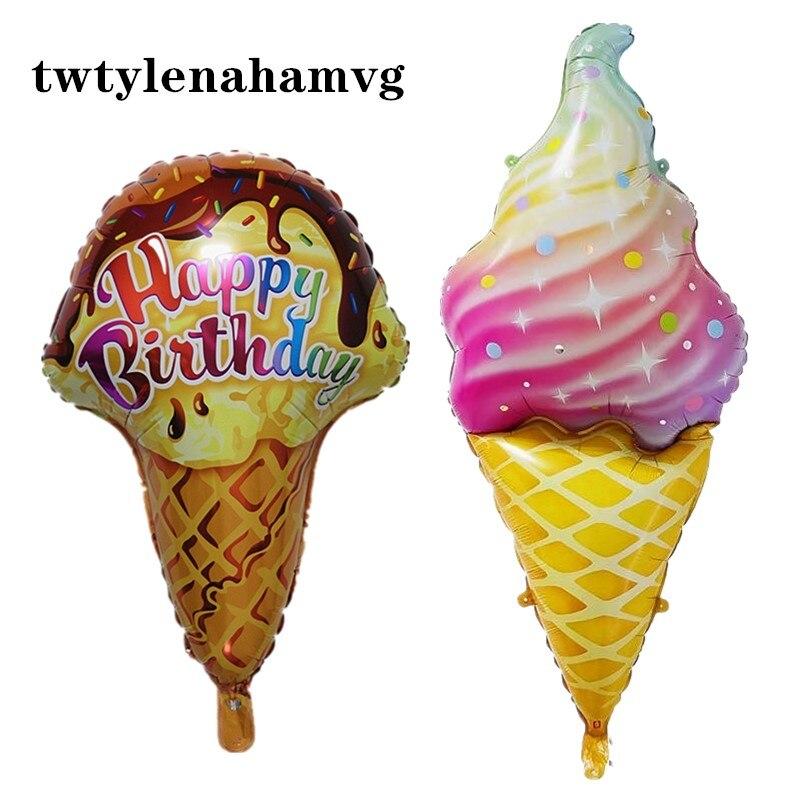 colorful ice cream girl
