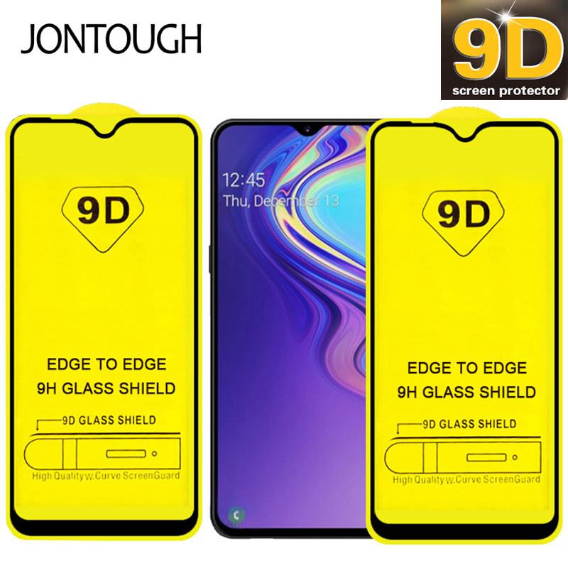 Tempered Glass On Samsung Galaxy A50 A30 A20 A10 A40 A70 A80 A90 A20S A30S Screen Protector A6 A7 J4 J6 Plus Glass