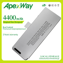 4400 mah 49wh 11.1 v a1280 bateria do portátil para apple macbook 13 \