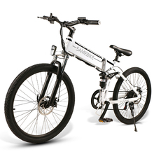 Electric Bike 26 Inch Folding Electric Bike Power Assist Electric Bicycle E-Bike Spoke Rim Scooter Moped Bike 48V 500W Motor