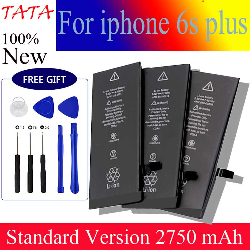 New For <font><b>iPhone</b></font> <font><b>6s</b></font> Plus <font><b>battery</b></font> 2750mAh Li-ion Replacement <font><b>Batteries</b></font> for <font><b>iphone</b></font> <font><b>6s</b></font> plus with repair tools kit image