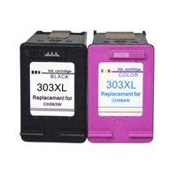 Cartuchos de Tinta de reposição para HP 303 XL para HP Envy 6220 6222 6230 6234 6252 6255 7120 7130 7132 7155 impressoras|Cartuchos de tinta|   -
