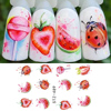 Fruit nail stickers