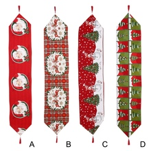 175*34cm Christmas Table Runner Napkin Decoration Birthday Party Decor