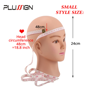 """Image 3 - 20.5"""" Blad Wig Head Professional Plussign New Mannequin Head Hat Glasses Wig Display Makeup Training Head With Table Clamp"""