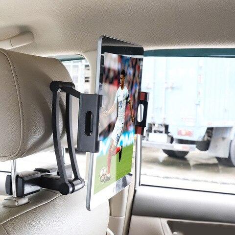 assento de volta do carro encosto de cabeca montagem para ipad carro traseiro travesseiro titular