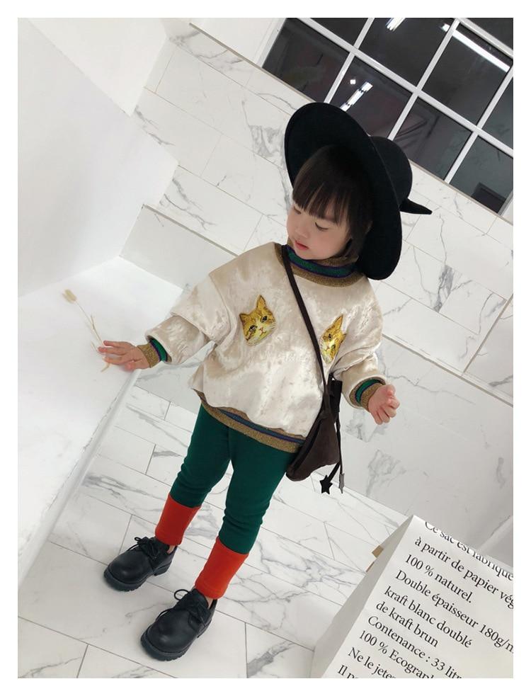 New Autumn Boys Girls Cartoon Cotton T Shirts MF Brand Children Tees Boy Girl Long Sleeve Sweater Kids Jacket Tops Baby Clothes 6