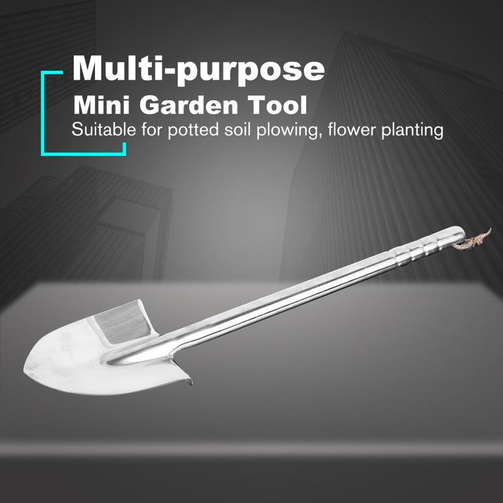 Stainless Steel Garden Shovel Durable Outdoor Explore Camping Spade Shovel Emergency Survival Hand Tool Garden Shovel