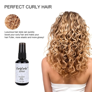 30 50ml Perfect Cute loki Hair Booster Curl definiujący żel do stylizacji włosów wzmacniający Spray do kręconych falistych włosów silny żel do stylizacji włosów żel do stylizacji włosów tanie i dobre opinie CN (pochodzenie) Żel do układania Perfect Cute Curls Hair Booster Curl